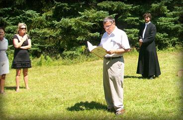 Célébrant le Mariage oublié durant la Fête du Nouveau-Brunswick